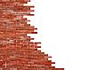 벽돌 벽의 일부 | Stock Foto