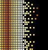 gelbschwarzer Mosaik-Hintergrund