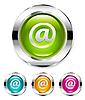 ID 3050535 | E-Mail-Tasten | Stock Vektorgrafik | CLIPARTO