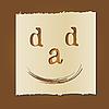 ID 3050582 | Открытка на День отцов | Векторный клипарт | CLIPARTO
