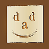 ID 3050582 | Ojciec `s karta dni | Klipart wektorowy | KLIPARTO