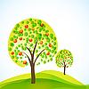 ID 3051185 | Drzew z owocami | Klipart wektorowy | KLIPARTO
