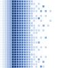 abstrakter blauer Mosaik-Hintergrund