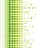 abstrakter grüner Mosaik-Hintergrund