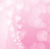 抽象的粉红色背景 | 向量插图