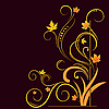 ID 3072613 | Florale Elemente auf Herbst-Thema | Stock Vektorgrafik | CLIPARTO