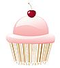 Kuchen stilisiert als Barcode