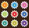 Blumen-Dingbats