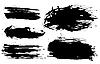 印迹 | 向量插图
