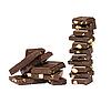 巧克力与坚果 | 免版税照片