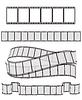 Satz von Filmstreifen für Ihr Design | Stock Vektrografik