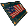 US-Flagge auf Jeans | Stock Illustration