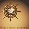 ID 3045847 | Globus und Schiffsteuerrad | Illustration mit hoher Auflösung | CLIPARTO