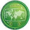 Icono del fútbol | Ilustración vectorial