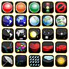 fünf und zwanzig Icons