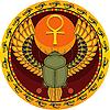 ID 3064007 | 埃及神圣的bug | 向量插图 | CLIPARTO