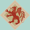 mittelalterlicher heraldischer Greif