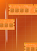 Elektroniczne karty pamięci | Stock Vector Graphics