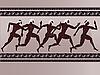 Antike griechische Figuren