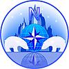 Polak z niedźwiedzi polarnych | Stock Vector Graphics