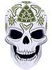 Tod mit keltischem Tattoo