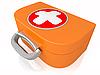Medycyna zestaw pierwszej pomocy | Stock Illustration