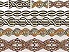 Keltische Ornamente | Stock Vektrografik