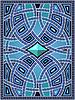 Hintergrund mit arabischen Mustern
