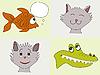 ID 3051820 | Lustige Tiere | Stock Vektorgrafik | CLIPARTO