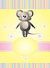 ID 3069445 | Karta zaproszenie z myszką | Klipart wektorowy | KLIPARTO