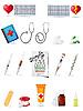 ID 3044071 | Set von medizinischen Icons | Stock Vektorgrafik | CLIPARTO