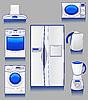 ID 3045075 | Haustechnik für eine Küche | Stock Vektorgrafik | CLIPARTO