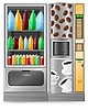Verkaufsautomat für Kaffee und Wasser