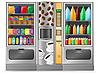Verkaufsautomat für Snacks und Wasser