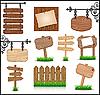 Holzschilde
