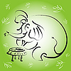 ID 3045268 | 大象一杯茶 | 向量插图 | CLIPARTO