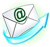 E-Mail-Zeichen mit Umschlag