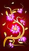 Chinesische rosa Blumen