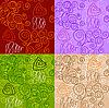 abstrakte nahtlose Muster
