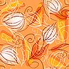 ID 3072780 | Nahtloser Hintergrund mit Blumen | Stock Vektorgrafik | CLIPARTO