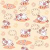 ID 3079293 | Бесшовный узор с милой овечкой | Иллюстрация большого размера | CLIPARTO