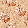 Nahtloses Blumenmuster