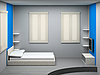 Schlafzimmer   Stock Illustration