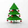 ID 3062019 | Weihnachtstanne | Illustration mit hoher Auflösung | CLIPARTO