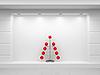 ID 3062029 | Витрина магазина с новогодней елкой | Иллюстрация большого размера | CLIPARTO