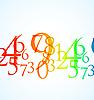 Numery kolorów | Stock Vector Graphics