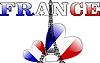 ID 3042137 | Wieża Eiffla i francuskiej flagi w formie serca | Klipart wektorowy | KLIPARTO