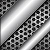 Streszczenie metaliczne tło | Stock Vector Graphics