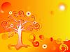 Vektor Cliparts: abstrakten Baum