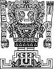 Maya-u nd Inka-Stammes-Symbol